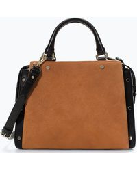 Zara Combined Office Citybag - Lyst
