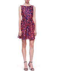 Thakoon Addition Open-back Flared-skirt Dress - Lyst
