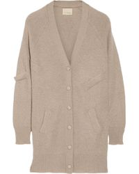 Band of Outsiders | Oversized Mohair-Blend Cardigan | Lyst