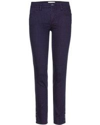Tory Burch Emmy Printed Jeans - Lyst