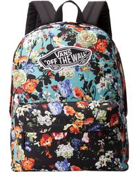 Vans Floral Realm Backpack - Lyst