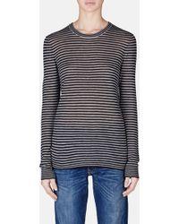 Jenni Kayne | L/s Striped Shirt | Lyst