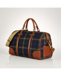 Polo Ralph Lauren | Large Tartan Duffel Bag | Lyst