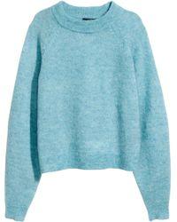 H&M Jumper in A Wool Blend - Lyst