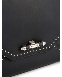 Givenchy - Obsedia Small Studded Leather Tote - Lyst
