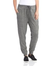Eileen Fisher Heathered Harem Sweatpants - Lyst