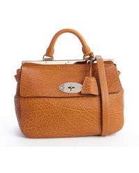 Mulberry Khaki Grained Leather Suffolk Crossbody Bag - Lyst