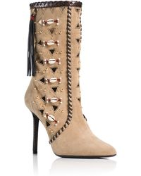 Tamara Mellon Bohemia Boot - 90Mm brown - Lyst