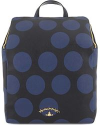 Vivienne Westwood | Polkamania Spotted Leather Backpack | Lyst