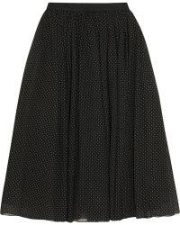 Alice + Olivia Andalasia Studded Chiffon Midi Skirt - Lyst
