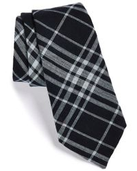 Rag & Bone Navy Plaid Tie - Lyst