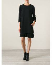Chloé Crepe Sable Dress - Lyst