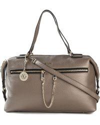 DKNY - Zip Detailed Crossbody Bag - Lyst