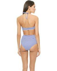 Zinke - Andi One Piece Swimsuit - Blue Stripe - Lyst