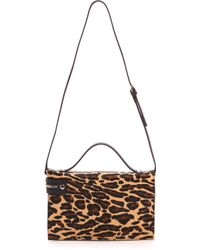 L.a.m.b. Dolley Iii Shoulder Bag Leopard - Lyst