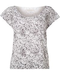 Calvin Klein Wind Patterned Top in Windy Grass - Lyst