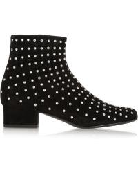 Saint Laurent 'Babies' Ankle Boots - Lyst