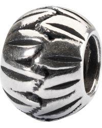 Trollbeads - Sterling Silver Chinese Fan Bead Charm - Lyst