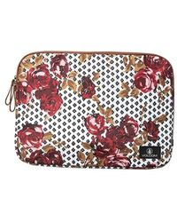 Volcom | 'on The Run' Floral Print Laptop Case | Lyst