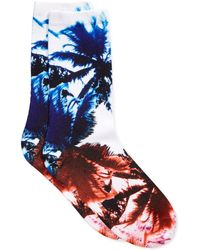 Vince Camuto - Women's Printed Trouser Socks - Lyst
