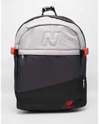 New Balance - Backpack With 3 Panels - Lyst a49a5612d5f53
