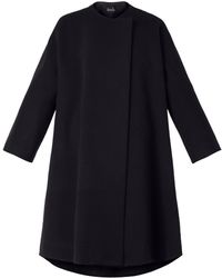 Freda Wool and Cashmereblend Trapeze Coat - Lyst