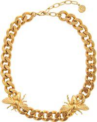 Ela Stone - Maya 2 Bee Necklace - Lyst