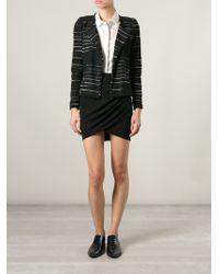 Etoile Isabel Marant Glenn Striped Bouclé Jacket - Lyst