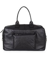 Vivienne Westwood Orb Logo Weekend Bag black - Lyst