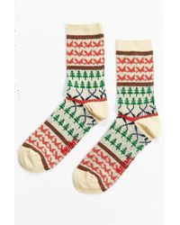 Chums - Jacquard Sock - Lyst
