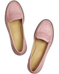 Maison Martin Margiela Leather Loafers - Lyst