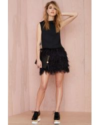 Nasty Gal Light As A Feather Dress - Lyst