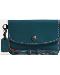 COACH | Envelope Key Pouch In Glovetanned Leather | Lyst