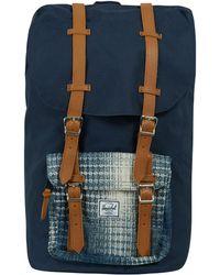 Herschel Supply Co. - Navy Little America Knit Pocket Backpack - Lyst