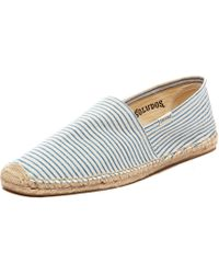 Soludos Blue Runners Stripe - Lyst