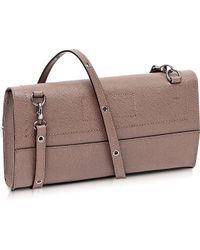 Francesco Biasia - Narciso Genuine Leather Shoulder Bag - Lyst