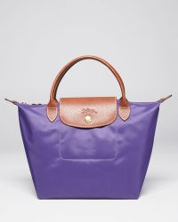 Longchamp Le Pliage Mini Tote - Lyst
