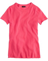 J.Crew Collection Cashmere Tee - Lyst