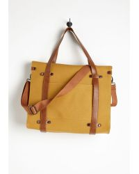 Nug - Camp Director Tote In Camel - Lyst