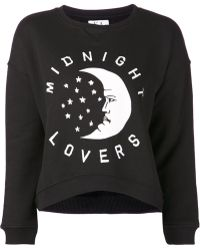 Zoe Karssen Midnight Lovers Sweatshirt - Lyst