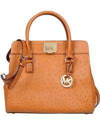 Michael Kors Orange Handbag - Lyst