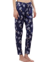 Piamita - Monkey Print Ankle Pyjama Trousers - Lyst