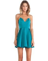 Keepsake Stolen Hearts Mini Dress - Lyst