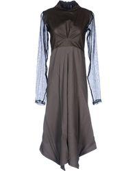 Damir Doma 3/4 Length Dress - Lyst