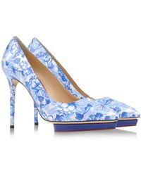 Charlotte Olympia Closed Toe - Lyst