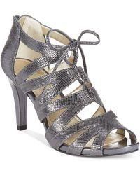 Anne Klein Ornella Dress Sandals - Lyst