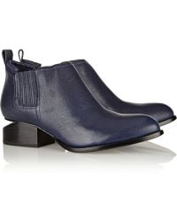 Alexander Wang Kori Leather Ankle Boots - Lyst