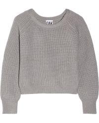 OAK - Cropped Wool Jumper - Lyst