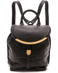 See By Chloé Lizzie Backpack - Nude - Lyst