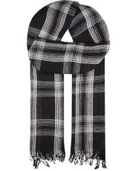 Sandro Edinburgh Checked Scarf - For Men - Lyst